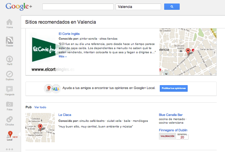 Google Local blog gerson beltran