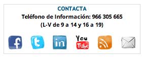 Contacto Master CMUA Valencia