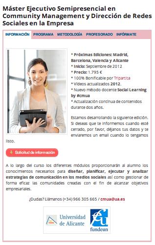 Master CMUA Valencia