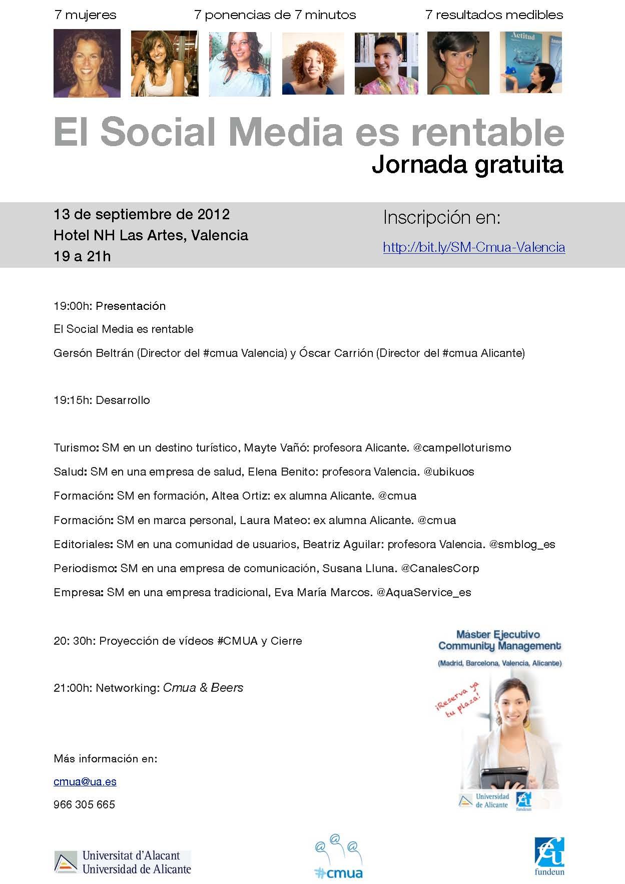 Evento cmua valencia 2012