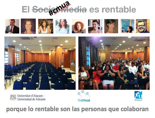 Evento #cmuavalencia final