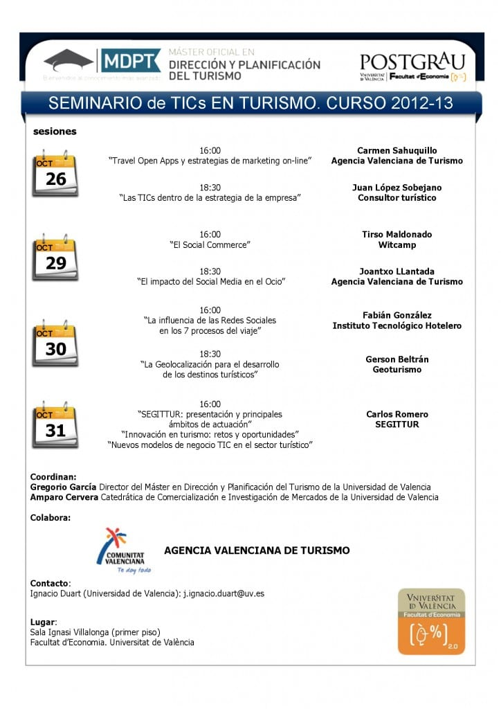 Cartel Seminario Tics en Turismo MDPT 2012 def