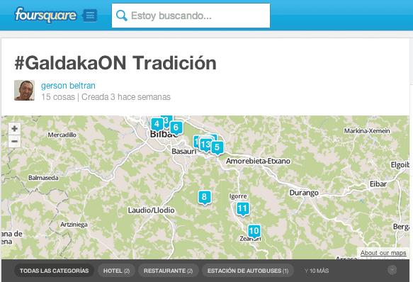 Lista #GaldakaOn tradición gersonbeltran
