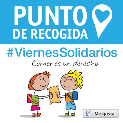 punto de recogida #viernessolidarios