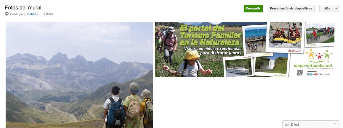 Viajar en Familia google plus fotos geolocalización gerson beltran