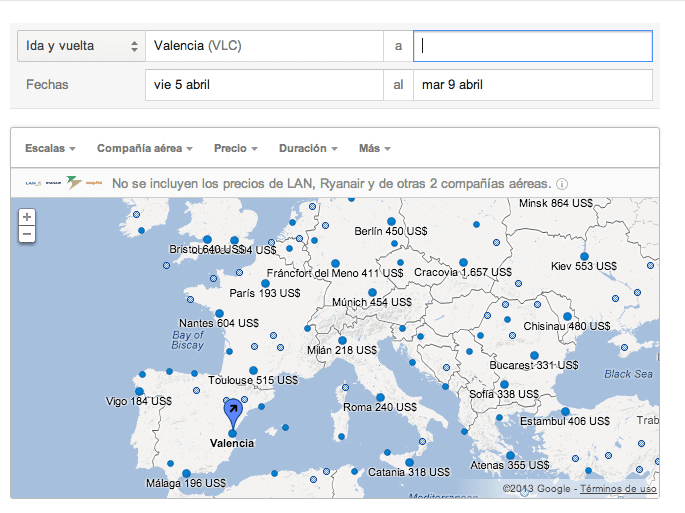 google flights gersón beltrán