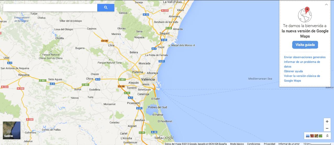 1. Google Maps gersón beltrán