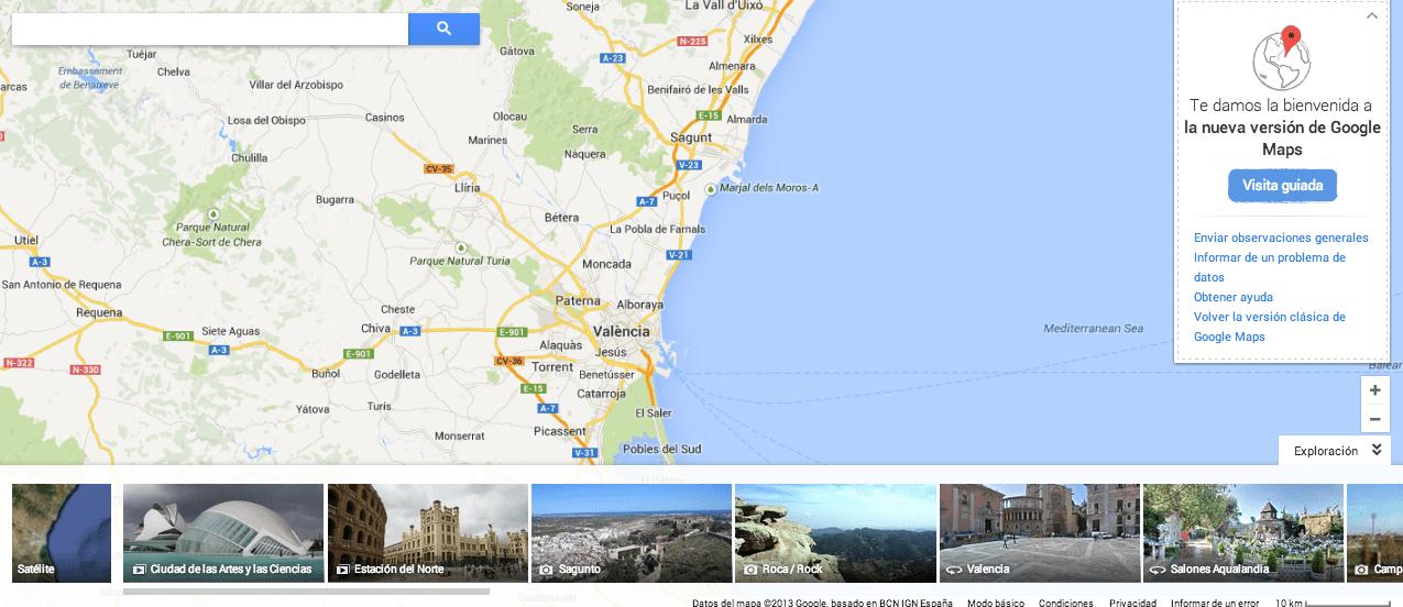 2. Exploración Google Maps gersón beltrán