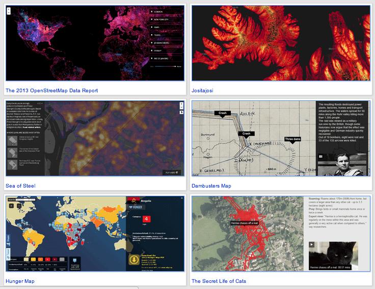 118 mapas interactivos en el blog de gersón beltrán