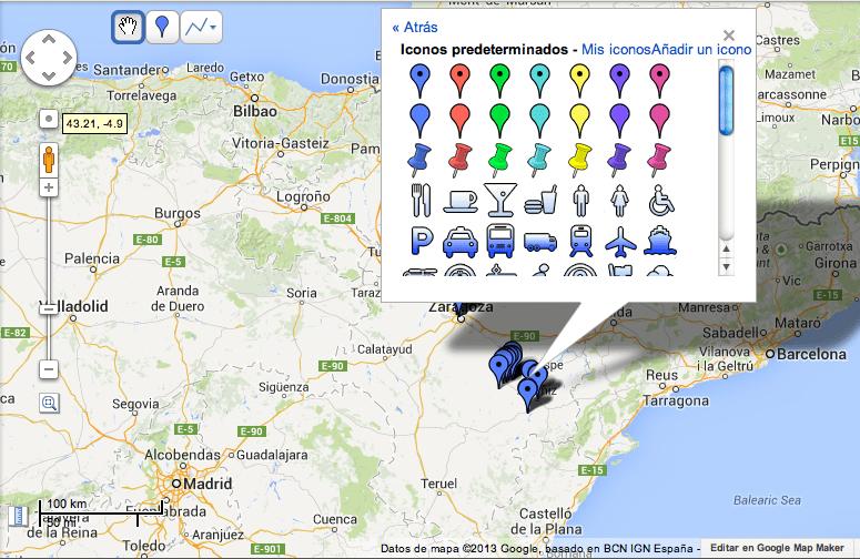 Como usar Foursquare como GPS para hacer un mapa en Google Maps 7