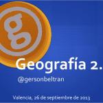 La nueva geografía: Geografía 2.0.