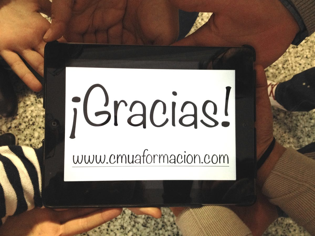Gracias Cmua-ok #cmua valencia cmuavlc