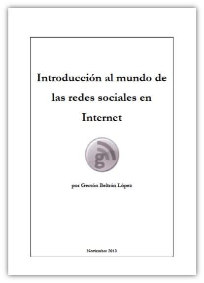 Introduducción al mundo de las redes sociales en Internet