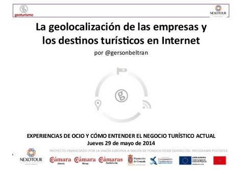 La geolocalización turística en internet