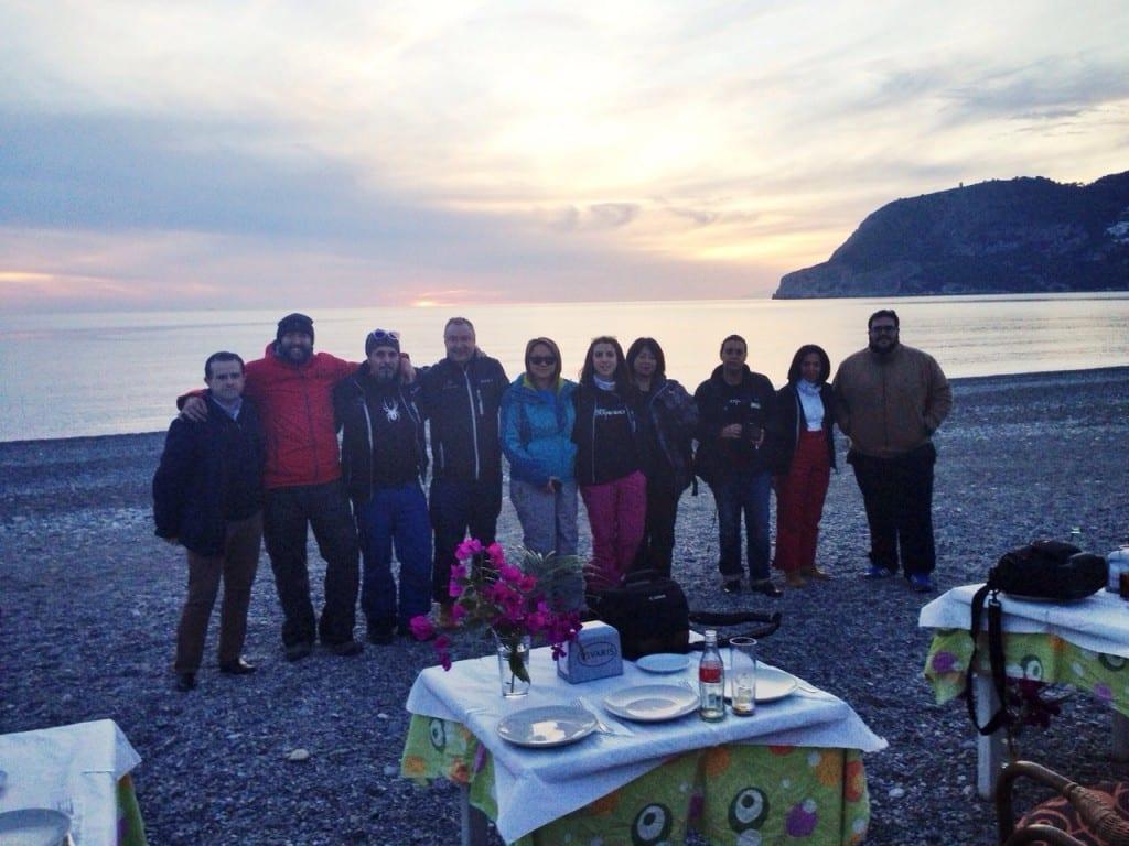 El turismo es un viaje compartido,mis compañeros de #grxperience