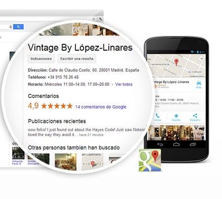 Aprende a usar Google My Business como una página web