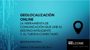 Geolocalización online, la herramienta de comunicación