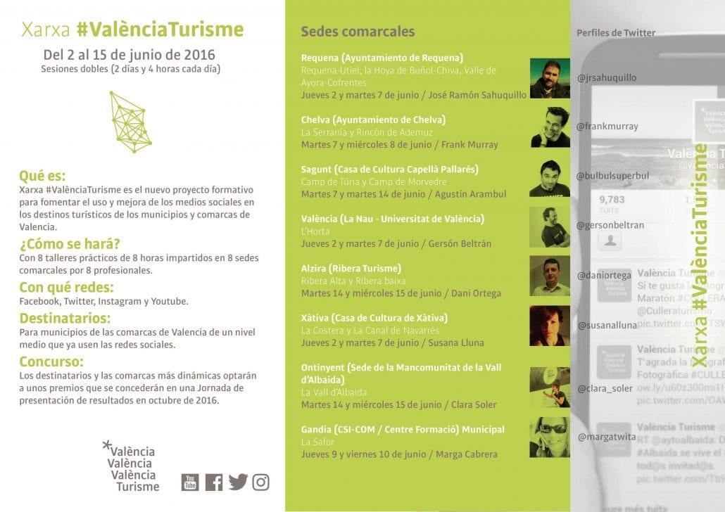 Xarxa València Turisme programa cast