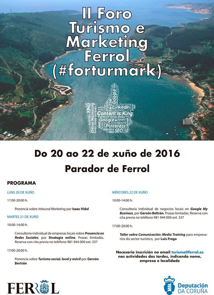 Tu negocio social, local y móvil en Ferrolterra programa