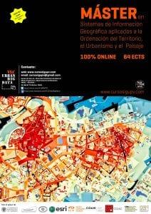 Máster en Sistemas de Información Geográfica aplicados a la Ordenación del Territorio, el Urbanismo y el Paisaje