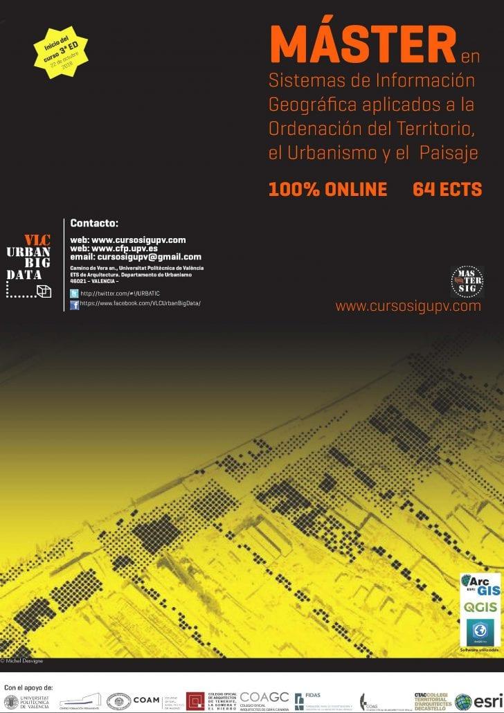 10 usos de los Sistemas de Información Geográfica. Máster en Sistemas de Información Geográfica aplicados a la ordenación del territorio, el urbanismo y el paisaje