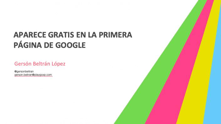 Aparece gratis en la primera página de Google usando geolocalización y gamificación